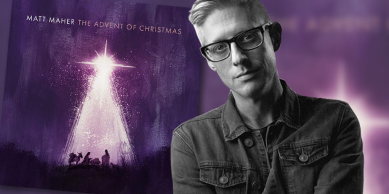 Web3 The Advent Of Christmas Cover Matt Maher Portrait Provided